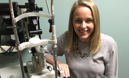 Stacie Setchell, OD; Photo from Women in Optometry