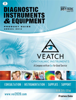Diagnostic Instruments & Equipment Guide - August 2013
