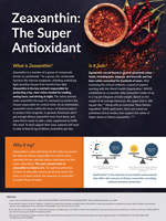 Zeaxanthin: The Super Antioxidant - March 2018 - Sponsored by ZeaVision