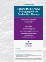 Moving the Mercury: Managing IOP via Dual-action Therapy - April 2018