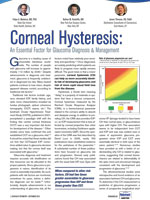 Corneal Hysteresis: An Essential Factor for Glaucoma Diagnosis & Management
