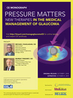 Pressure Matters: New Therapies in the Medical Management of Glaucoma