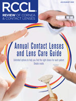 Annual Contact Lenses and Lens Care Guide - 2020