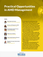Practical Opportunities in AMD Management