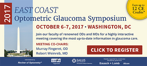2017 East Coast Optometric Glaucoma Symposium - Click to Register